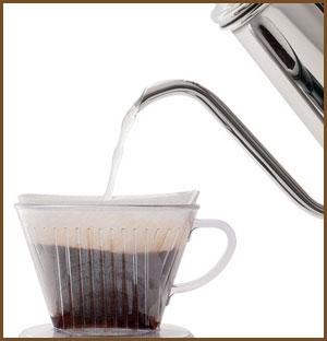 自宅で美味しいコーヒー ドリッパーの違いとは?ビギナーにはメリタ式がオススメ
