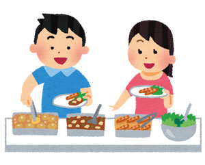 食べ放題とバイキング・ビュッフェの違いは?上手な食べ方とは?