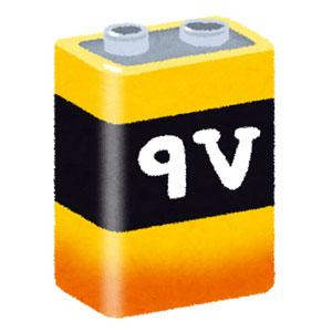 四角い電池