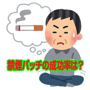 禁煙パッチの成功率は?価格はどれくらい?副作用はあるの?